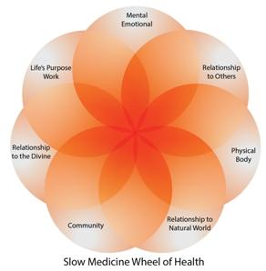 Slow Medicine Wheel of Health_sm